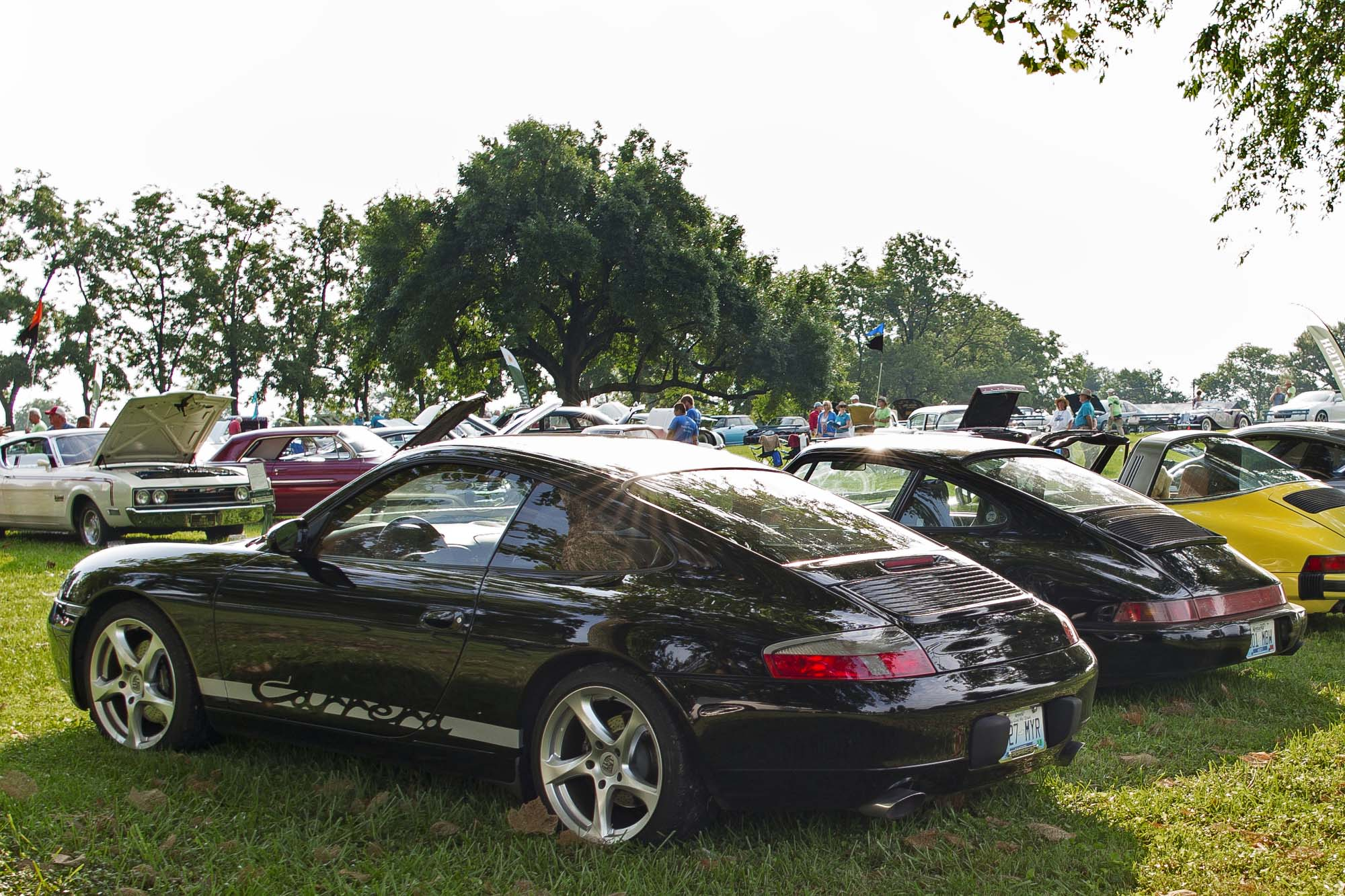 2015 Keeneland Concours d.Elegance.Porsche Club of America (Bluegrass Region) Paddock. - Photo by Joseph Rey Au