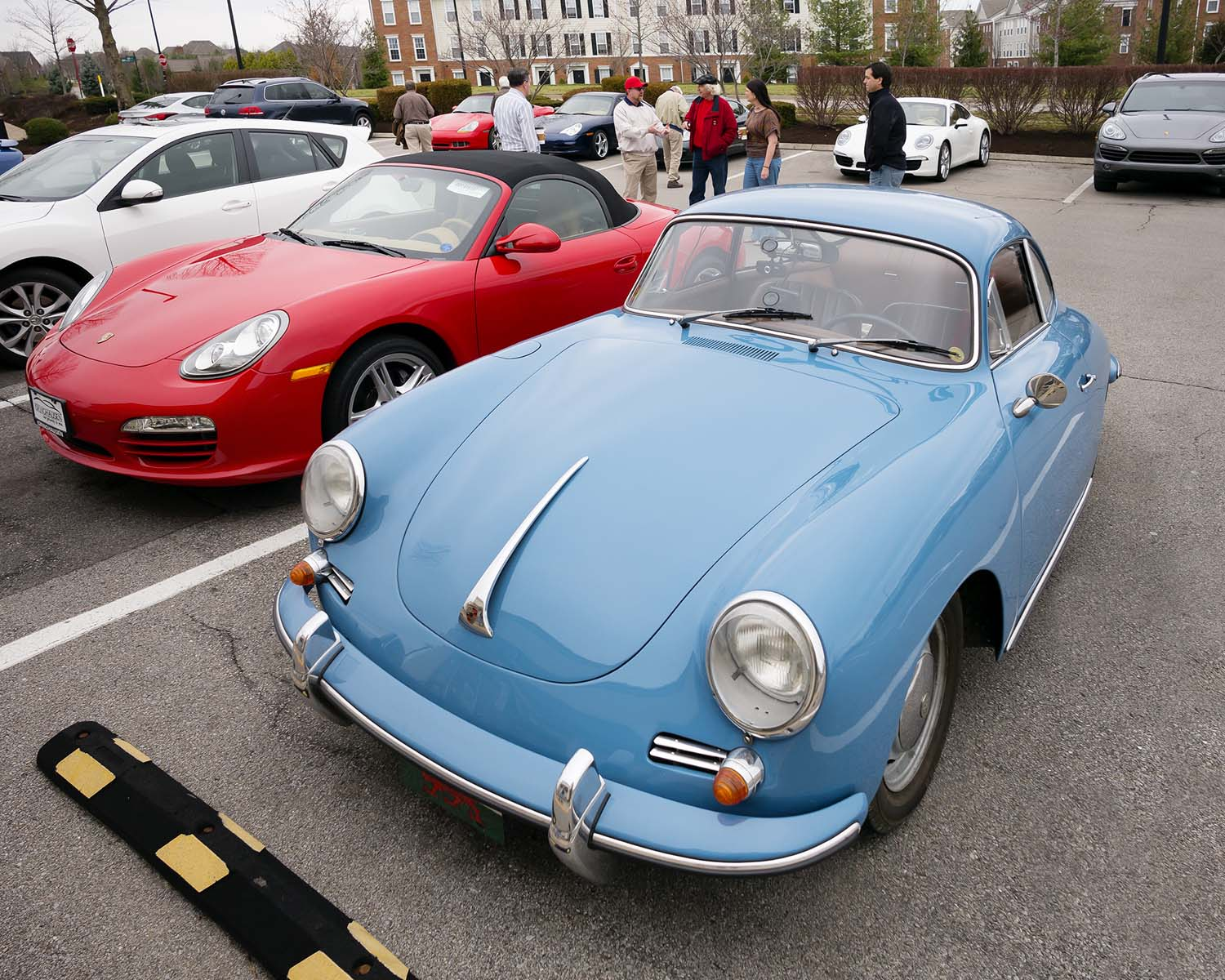 Reminder!  Porsche Club Cars & Coffee, May 14th